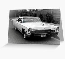 68 Cadillac Greeting Card