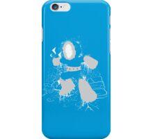 Ice Man Splattery Design iPhone Case/Skin