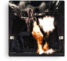 Kung Fu Man Canvas Print