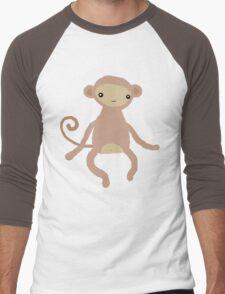 Baby Monkey Men's Baseball ¾ T-Shirt