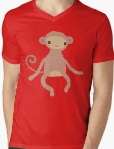 Baby Monkey Mens V-Neck T-Shirt