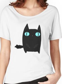 Fat Black Cat Women's Relaxed Fit T-Shirt