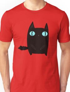 Fat Black Cat Unisex T-Shirt