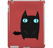 Fat Black Cat iPad Case/Skin