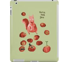 Nuts For You iPad Case/Skin