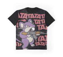 RATATATATATATATATAT FUNNY MOUSE RAT Graphic T-Shirt