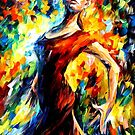 IN THE STYLE OF FLAMENCO - OIL PAINTING BY LEONID AFREMOV by Leonid  Afremov