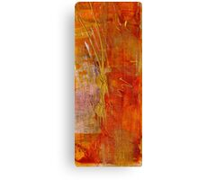 The Golden Glow of a Welcomed Sunset Canvas Print