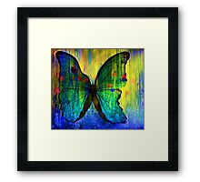 Happiness Is Like A Butterfly Framed Print