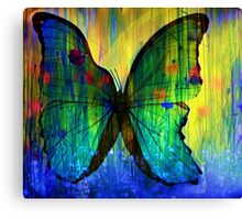 Happiness Is Like A Butterfly Canvas Print