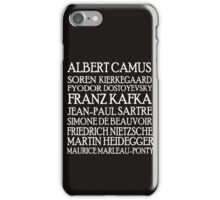 Existentialist Classic St2 iPhone Case/Skin