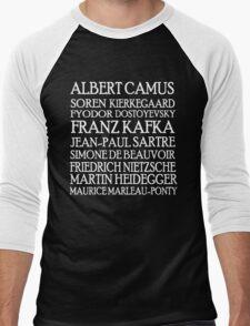 Existentialist Classic St2 Men's Baseball ¾ T-Shirt
