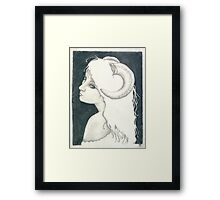Black Sheep Framed Print