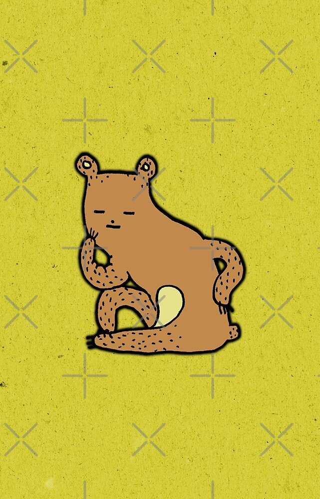 Thinking Bear by Sophie Corrigan