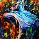 THE SPINING DANCER - OIL PAINTING BY LEONID AFREMOV by Leonid  Afremov