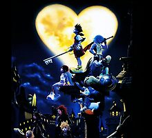 Kingdom Hearts by Tvrs01001