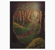 Woodland Path Baby Tee