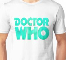 Doctor Who Logo. Unisex T-Shirt