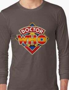 Doctor Who Logo. Long Sleeve T-Shirt