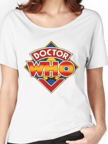 Doctor Who Logo. Women's Relaxed Fit T-Shirt