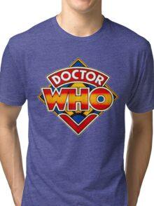 Doctor Who Logo. Tri-blend T-Shirt