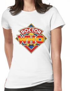 Doctor Who Logo. Womens Fitted T-Shirt