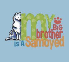 Big Brother Samoyed Baby Tee