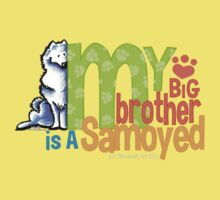 Big Brother Samoyed Kids Tee
