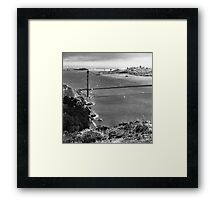 Historic Ship Parade - 75th Anniversary of the Golden Gate Bridge Framed Print