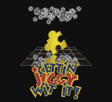 """Gettin' Jiggy Wit' It!"" Kids Clothes"