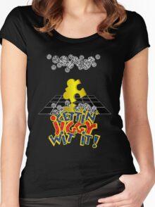 """Gettin' Jiggy Wit' It!"" Women's Fitted Scoop T-Shirt"