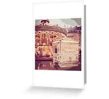 Paris Carousel Greeting Card