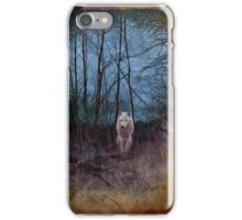 Dark Forest And The Ghost Wolf iPhone Case/Skin