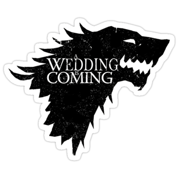A Wedding Is Coming by whengeekswed