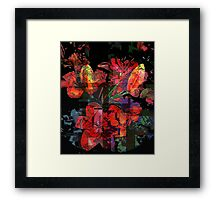 Break in the day... Framed Print