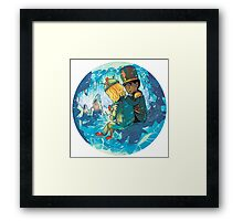 Cave of Frozen Memories (Community) Framed Print