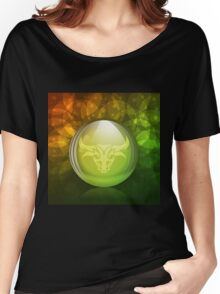 Luminescent snow globe Women's Relaxed Fit T-Shirt