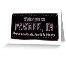 Pawnee Indiana Greeting Card
