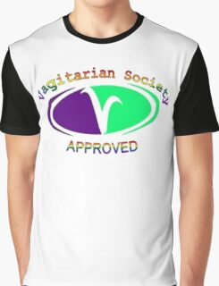 Vagitarian Society: Approved Graphic T-Shirt