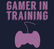 Gamer In Training One Piece - Short Sleeve