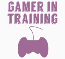 Gamer In Training Kids Tee