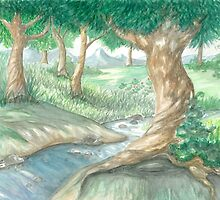 PEACEFUL STREAMS by Lynn Wright