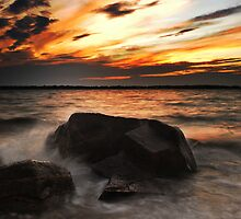 Bay Side Sunset by Kevin Hertle