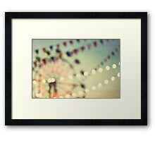 carnival dreams Framed Print