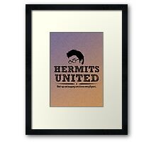 Hermits United Framed Print