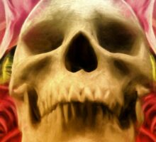 Skull And Rose's  Sticker