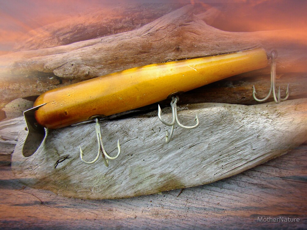 Atom A40 Vintage Saltwater Lure - Whiting Gold by MotherNature