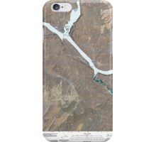 USGS Topo Map Washington State WA Starbuck West 20110405 TM iPhone Case/Skin