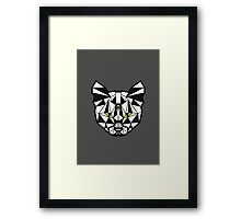 Crystal Cat Framed Print