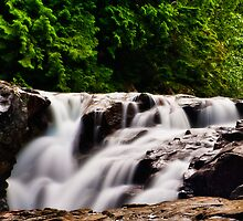 Weeks Falls - Olallie State Park, Washington State U.S.A. by Vincent Frank